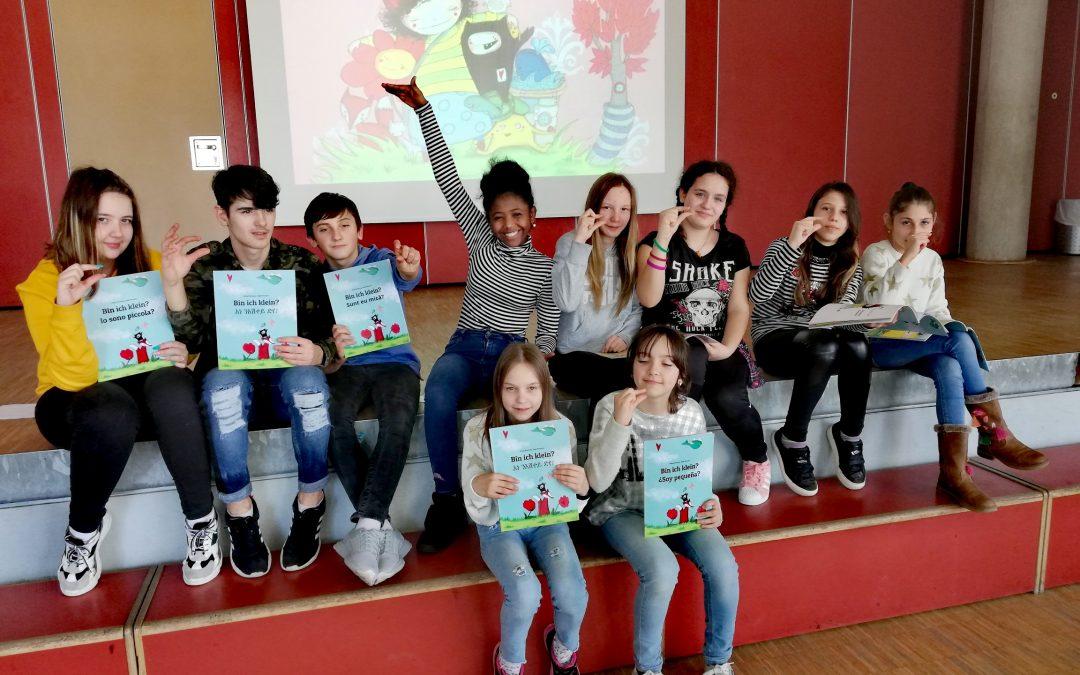 Vorleseprojekt am Internationalen Tag der Muttersprache an der Alleenschule