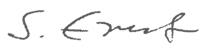 Unterschrift Sybille Ernst